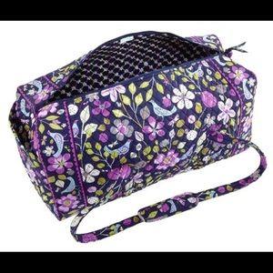 NWOT Vera Bradley Duffel Bag in floral nightingale